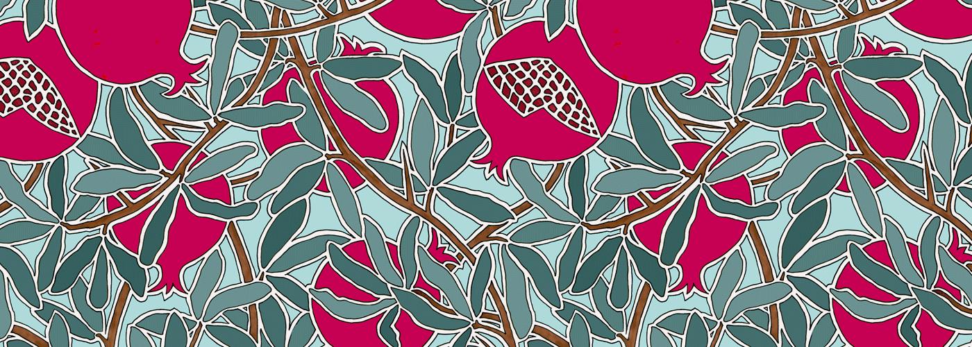 Pomegranate Pattern