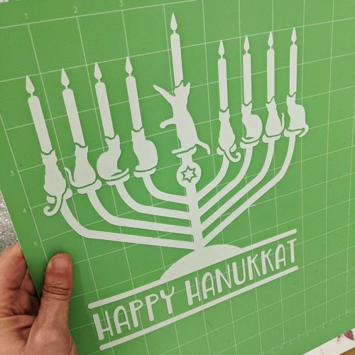 Happy Hanukkat SVG Design